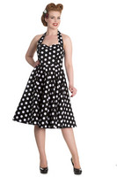 4156  Mariam 50´s dress, blk
