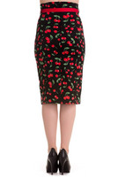 5332 Cherry Pop Pencil skirt