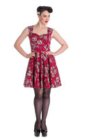 4453  Idaho dress, red