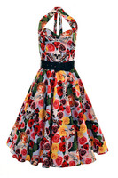 4176  HELL BUNNY MEXICO 50S DRESS