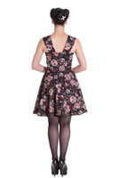 4453  Idaho dress, blk
