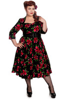 4292 HELL BUNNY Eternity 50s dress, plus size