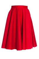5307 HELL BUNNY PAULA 50´S SKIRT, RED