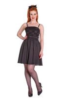 4389 Marvelette dress, blk