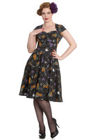 4619 HELL BUNNY Harlow 50´s dress