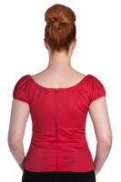 6505 Melissa top, red