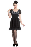 4631 HELL BUNNY Yule Mini dress
