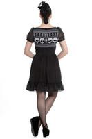 4631 HELL BUNNY Yule Mini dress