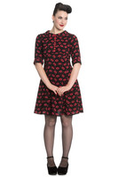 4614 HELL BUNNY Kiss Me Deadly dress, KOOT S,  L