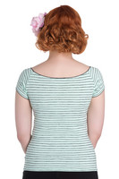 6529 Mauricette top, mint