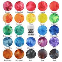 Brusho Crystal Colors 24 värin aloituspakkaus