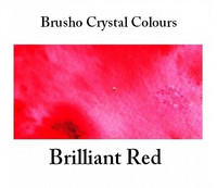 Brusho Crystal Colors -  Brilliant Red 15g