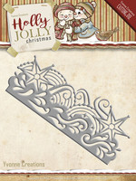 Yvonne Creations: Snowflake Border  -stanssi