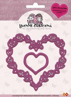 Yvonne Creations: Hearts  -stanssisetti