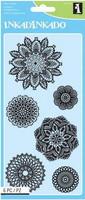 Inkadinkado: Decorative Doilies  - kirkas leimasinsetti