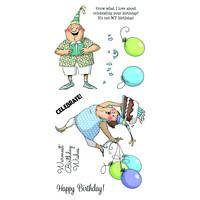 Art Impressions: Birthday Wishes - kirkas leimasinsetti