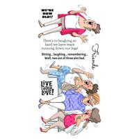 Art Impressions: Live Laugh Love - kirkas leimasinsetti