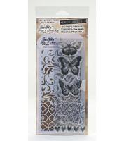 Tim Holtz stamps & stencil: Butterflies  -setti
