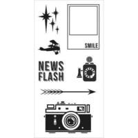 Fiskars: Retro Flash - kirkas leimasinsetti