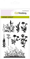 Craft Emotions: Herbs Branches- kirkas leimasinsetti