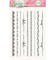 Studio Light: Sweet Romance Borders- kirkas leimasinsetti