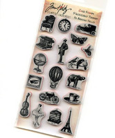 Tim Holtz Cling Stamps: Little Things - leimasinsetti