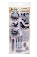 Tim Holtz Cling Stamps: Nature - leimasinsetti