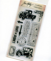 Tim Holtz Clear Stamps: The Journey - leimasinsetti