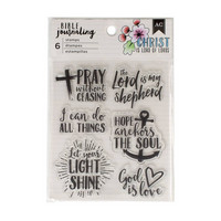 AC Bible Journaling Stamps 1 - kirkas leimasinsetti