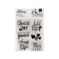 AC Bible Journaling Stamps 2 - kirkas leimasinsetti