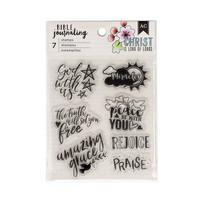 AC Bible Journaling Stamps 3 - kirkas leimasinsetti