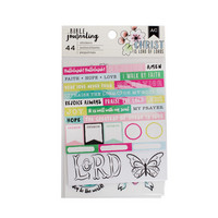 AC Bible Journaling Stickers: Watercolor - tarrapakkaus