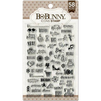 Bo Bunny: Icons - kirkas leimasinsetti