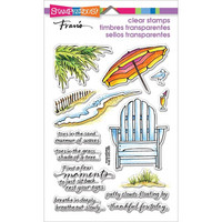 Stampendous: Seaside Chair - kirkas leimasinsetti