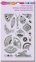 Stampendous: Pen Pattern Repeat - kirkas leimasinsetti