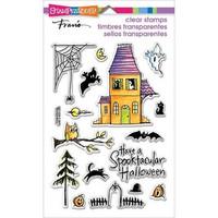 Stampendous: Spooky House - kirkas leimasinsetti