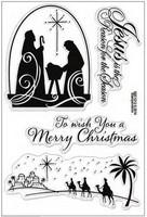 Stampendous: Nativity Christmas - kirkas leimasinsetti