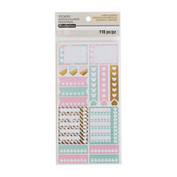 Recollections Planner Stickers:  Uptown Chic Tracker - tarrapakkaus
