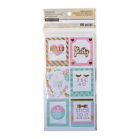 Recollections Planner Stickers:  Uptown Chic Large Frame Label - tarrapakkaus