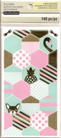 Recollections Planner Stickers:  Uptown Chic Shapes - tarrapakkaus