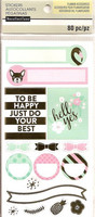 Recollections Planner Stickers:  Uptown Chic Weekly Layout - tarrapakkaus