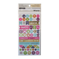 Recollections Planner Stickers:  Boho Activity- tarrapakkaus