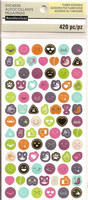 Recollections Planner Stickers:  Boho Emoji- tarrapakkaus