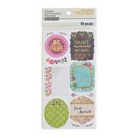 Recollections Planner Stickers:  Boho Large Square Phrase - tarrapakkaus