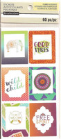 Recollections Planner Stickers:  Boho Large Frame Label - tarrapakkaus