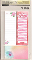 Recollections Planner Sticky Notes: Watercolor 2 -pakkaus