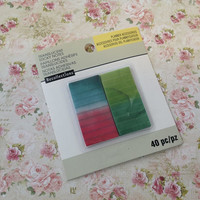 Recollections Creative Year Vellum Sticky Notes: Watercolor