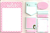 Recollections Sticky Notes Book: Uptown Chic
