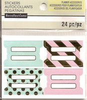 Recollections Planner Stickers:  Uptown Chic Tabs - tarrapakkaus