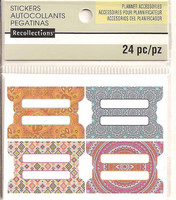 Recollections Planner Stickers:  Boho Tabs - tarrapakkaus